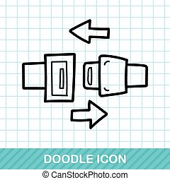 seat belt doodle