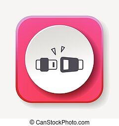 seat belt icon