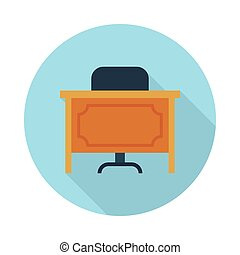seat flat icon