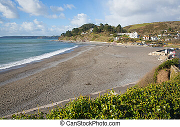 Seaton Cornwall beach near Looe England UK