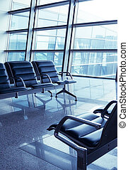 Seats in the airport