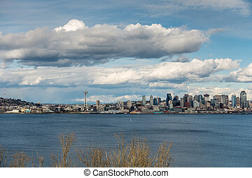 Seattle And Clouds 3