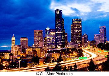 Seattle weekend traffic