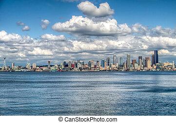 Seattle Cityscape HDR 2