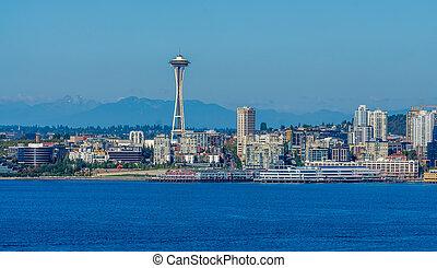 Seattle Cityscape Scene 4