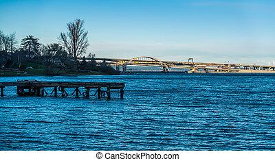 Seattle Highway Bridge