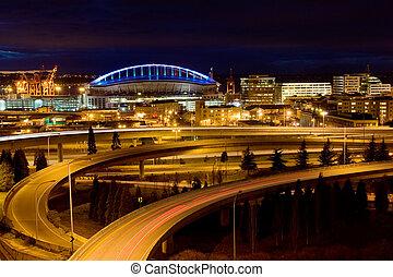 Seattle landmark - Seattle sports arena