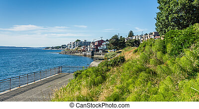 seattle ouest, rivage