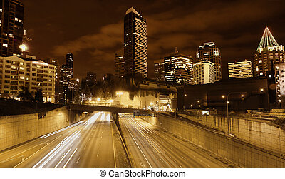 seattle, roadscape