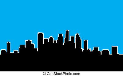 Seattle Skyline Silhouette