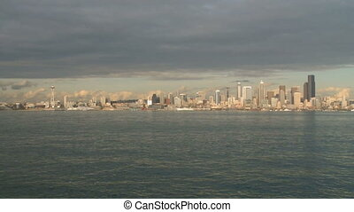 Seattle Skyline - time lapse (1 of 3)