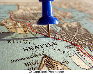 Seattle - The way we looked at Seattle in 1949.