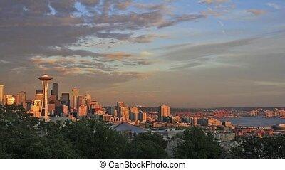 Seattle Washington City Timelapse - Seattle Washington...