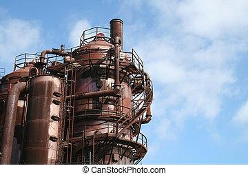 Seattle Washington Historic Gaswork