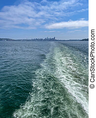 Seattle?Bainbridge ferry is a ferry route across Puget Sound between Seattle and Bainbridge Island, Washington. The route was called the Seattle?Winslow ferry before the city of Winslow annexed the rest of the island and changed its name. Since 1951 the only ferries employed on the route have ...