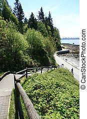 Seawall - Stanley Park, Vancouver, Canada