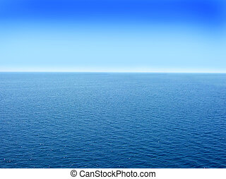 blue adriatic water seascape abstract background
