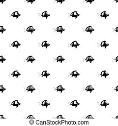 Seaweed pattern vector