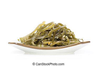 Seaweed Salad on a plate