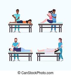 sebesült, fogalom, állhatatos, asztal, sport, fizikai, türelmes, elegyít, alkatrészek, bánásmód, therapists, test, tele, gyűjtés, terápia, gyógyulás, specialisták, masszőr, kézikönyv, hosszúság, faj, masszázs, masszázs