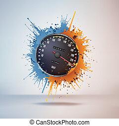 sebességmérő