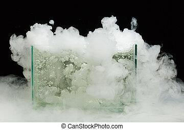 sec, ébullition, vapeur, glace