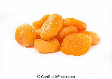 sec, abricot