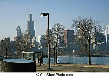 sec, hiver, chicago