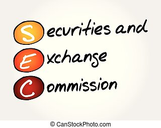 SEC - Securities and Exchange Commission acronym, business...