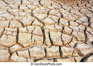 sec, stérile, terre