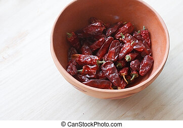 secado, chilis