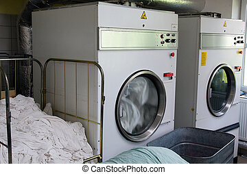 secadores, lavandería automática