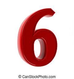 sechs, figur