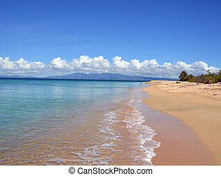 Secluded beach - Photo of a secluded beach on the Isla de...