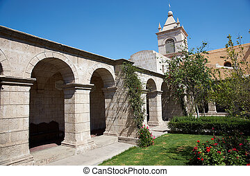 Monasterio Del Carmen - Secluded courtyard in the historic ...