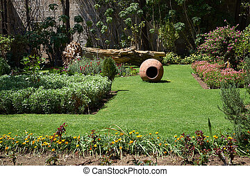 Monasterio de Santa Catalina - Secluded garden inside the ...