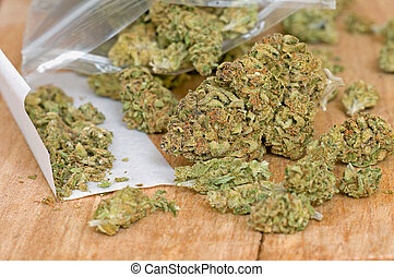 seco, brotes,  marijuana
