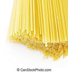seco, espaguetis