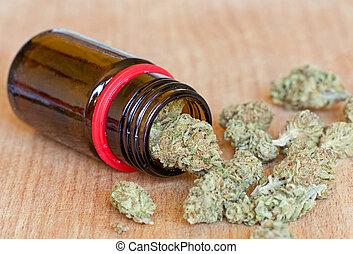 seco, marijuana, brotes