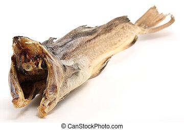 seco, pez, bacalao