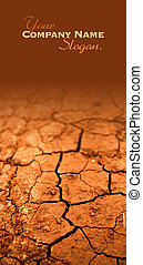 seco, tierra agrietada, textura, lema