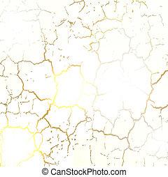 seco, tierra, agrietado, textura