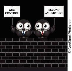 Second Amendment - Gun control verses the USA second ...