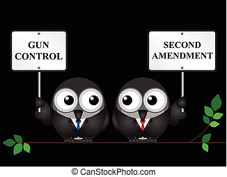 Second Amendment - Gun control verses the USA second...