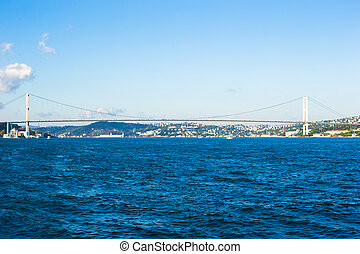Second Bosphorus Bridge in Istanbul, Turkey.