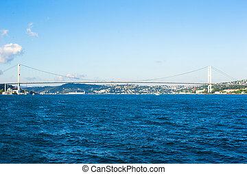 Second Bosphorus Bridge in Istanbul, Turkey.