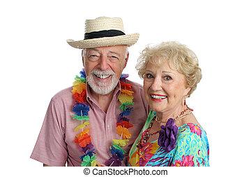 Second Honeymoon - An attractive mature couple enjoying ...