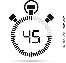 secondo, 45, timer
