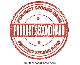 secondo, prodotto, hand-stamp