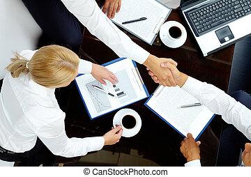 secondo, trattative, negoziati